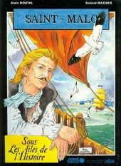 Saint-Malo -b1987- Sous les ailes de l'histoire