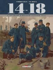 14-18 (Corbeyran/Le Roux) -3- Le champ d'honneur (janvier 1915)