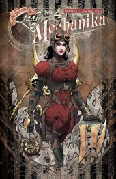 Lady Mechanika (2010) -4A- The Mystery of the Mechanical Corpse Chapter 4
