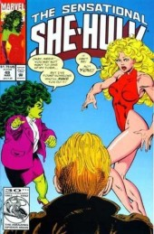 Sensational She-Hulk (The) (1989) -49- Love conquers all
