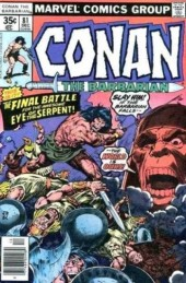Conan the Barbarian Vol 1 (Marvel - 1970) -81- The eye of the serpent