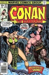 Conan the Barbarian Vol 1 (Marvel - 1970) -82- The sorceress of the swamp!