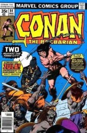 Conan the Barbarian Vol 1 (Marvel - 1970) -84- Two against the hawk-city!
