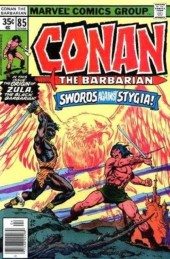 Conan the Barbarian Vol 1 (Marvel - 1970) -85- Of swordsmen and sorcerers!