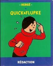 Quick et Flupke -6- (Casterman, Mini-récits) - Rédaction