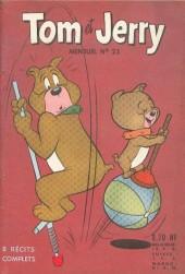 Tom et Jerry (Puis Tom & Jerry) (2e Série - Sage) -23- Jerry et Mitsou mènent Tom en bateau...