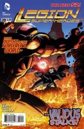 Legion of Super-Heroes (2011) -20- Vanishing Worlds