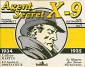 Agent secret X-9 (Futuropolis) -INT1- Integrale Vol.1 - 1934/1935