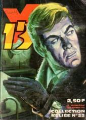 X-13 agent secret -Rec22- Collection reliée N°22 (du n°169 au n°176)