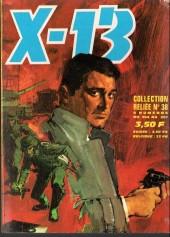 X-13 agent secret -Rec38- Collection reliée N°38 (du n°284 au n°287)