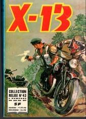 X-13 agent secret -Rec43- Collection reliée N°43 (du n°304 au n°307)