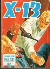 X-13 agent secret -Rec50- Collection reliée N°50 (du n°332 au n°335)