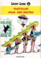 Lucky Luke -31a83- Tortillas pour les Dalton