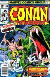 Conan the Barbarian Vol 1 (Marvel - 1970) -86- The devourer of the dead!