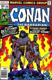 Conan the Barbarian Vol 1 (Marvel - 1970) -88- The queen and the corsairs!