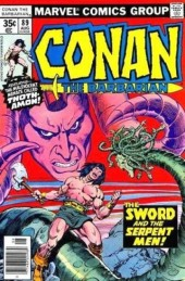 Conan the Barbarian Vol 1 (Marvel - 1970) -89- The sword and the serpent!