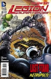 Legion of Super-Heroes (2011) -21- Endings, Part One