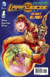Larfleeze (2013) -1- The Extremely Large Dog on the Edge of Forever!