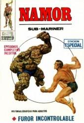 Namor (Vol. 1) -3- Furor Incontrolable
