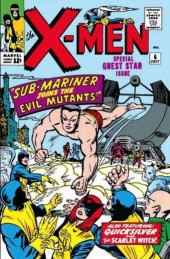 Uncanny X-Men (The) (1963) -6- Sub-mariner joins the evil mutants!