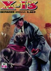 X-13 agent secret -78- Heures difficiles