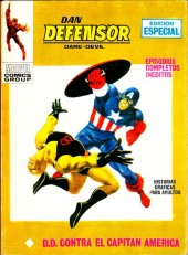 Dan Defensor (Dare-Devil) -17- ¡D.D. contra el Capitán América!