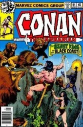 Conan the Barbarian Vol 1 (Marvel - 1970) -94- The beast-king of Abombi!