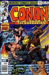 Conan the Barbarian (1970) -97- The long night of fang and talon! part two