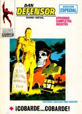 Dan Defensor (Dare-Devil) -22- ¡Cobarde... cobarde!