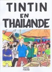 Tintin - Pastiches, parodies & pirates -1b- Tintin en Thaïlande
