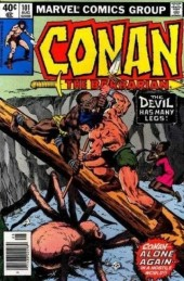 Conan the Barbarian Vol 1 (Marvel - 1970) -101- The devil has many legs!