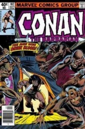 Conan the Barbarian Vol 1 (Marvel - 1970) -102- The men who drink blood!