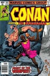 Conan the Barbarian (1970) -103- Bride of the vampire!