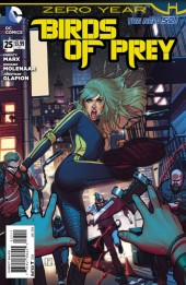 Birds of Prey (2011) -25- Zero Year: Sunrise