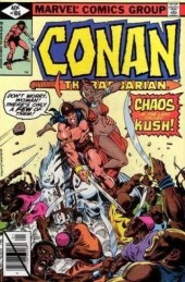 Conan the Barbarian (1970) -106- Chaos in the land called Kush!