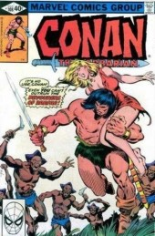 Conan the Barbarian Vol 1 (Marvel - 1970) -108- The moon-eaters of Darfar!