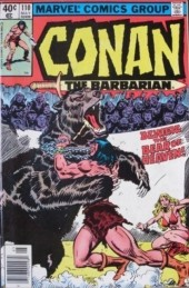 Conan the Barbarian Vol 1 (Marvel - 1970) -110- Beware the bear of heaven!