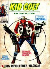 Kid Colt (Ediciones Vértice - 1971) -9- Dos Revólveres mágicos