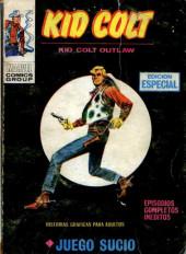 Kid Colt (Ediciones Vértice - 1971) -4- Juego sucio