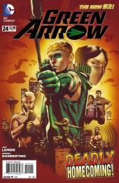 Green Arrow (2011) -24- Dissonance