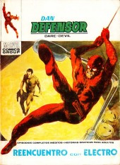 Dan Defensor (Dare-Devil) -38- Reencuentro con Electro