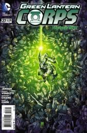 Green Lantern Corps (2011) -27- Forensics