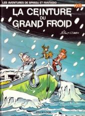 Spirou et Fantasio -30a87- La ceinture du grand froid