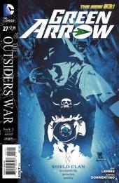 Green Arrow (2011) -27- The Outsiders War, Book 2: Secret Origin