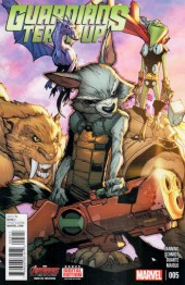 Guardians Team-Up (2015) -5- Issue 5