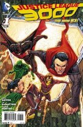 Justice League 3000 (2014) -1- Yesterday Lives !