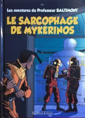 Les aventures du Professeur Baltimont -1- Le sarcophage de Mykérinos