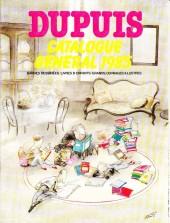 (Catalogues) Éditeurs, agences, festivals, fabricants de para-BD... - Dupuis - 1985 - Catalogue