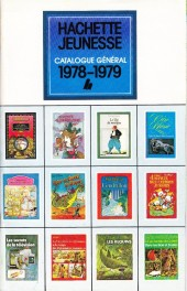 (Catalogues) Éditeurs, agences, festivals, fabricants de para-BD... - Catalogue 1978-1979 - Hachette Jeunesse