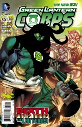 Green Lantern Corps (2011) -30- Survival of the Fittest